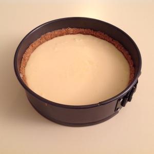 Tarta de queso en crudo