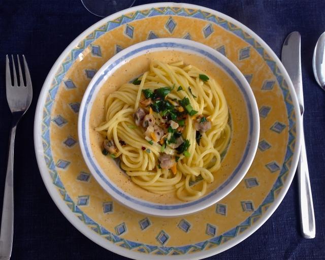 Espaguetis casi marineros