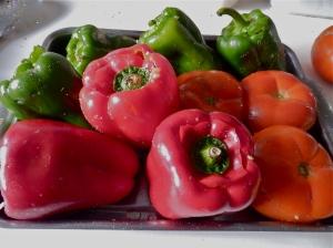 Verduras rellenas
