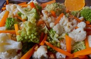Verduras blanqueadas