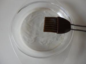Engrasando el molde