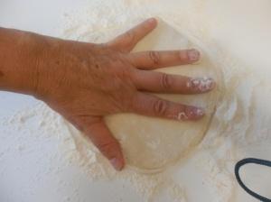 Formando una torta
