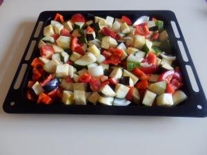 verduras troceadas