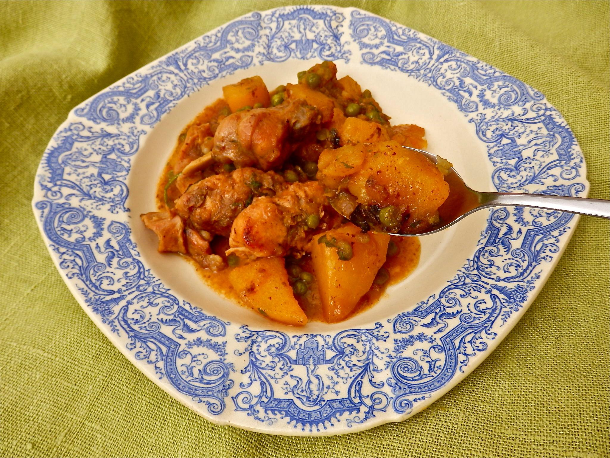 Conejo con guisantes y patatas recetas para encantar for Cocinar guisantes congelados