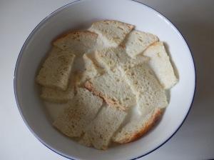 Pan bien empapado