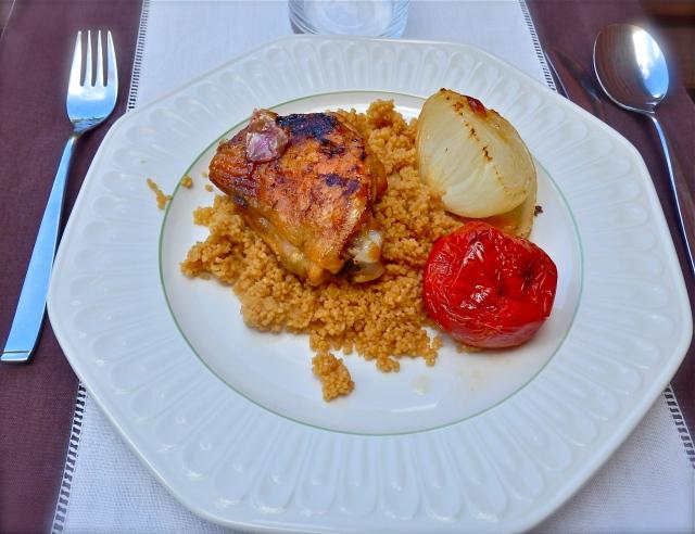 Pollo con cuscús
