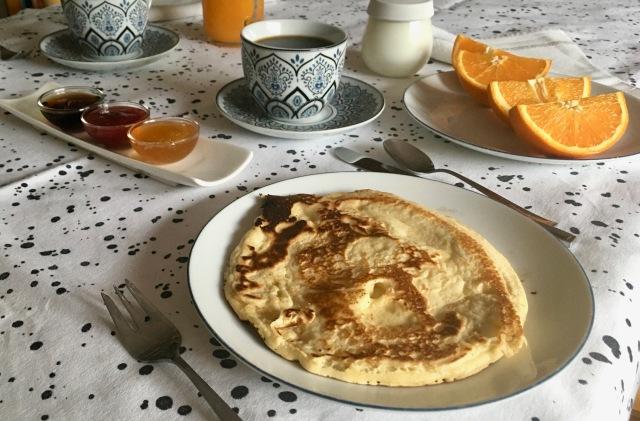 Tortitas para el desayuno